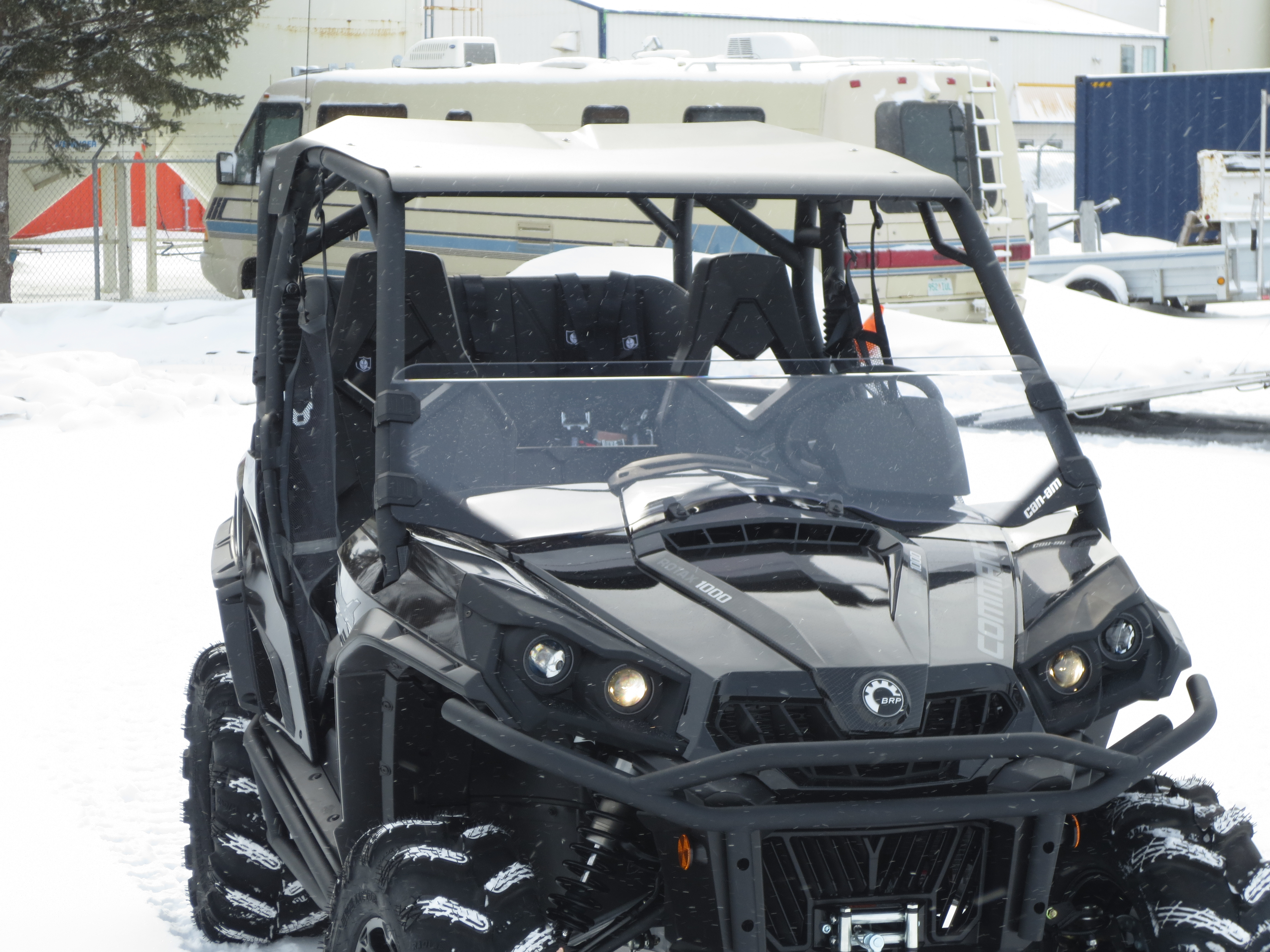 Roof For Extended Roll Cage Can Am Commander Forum