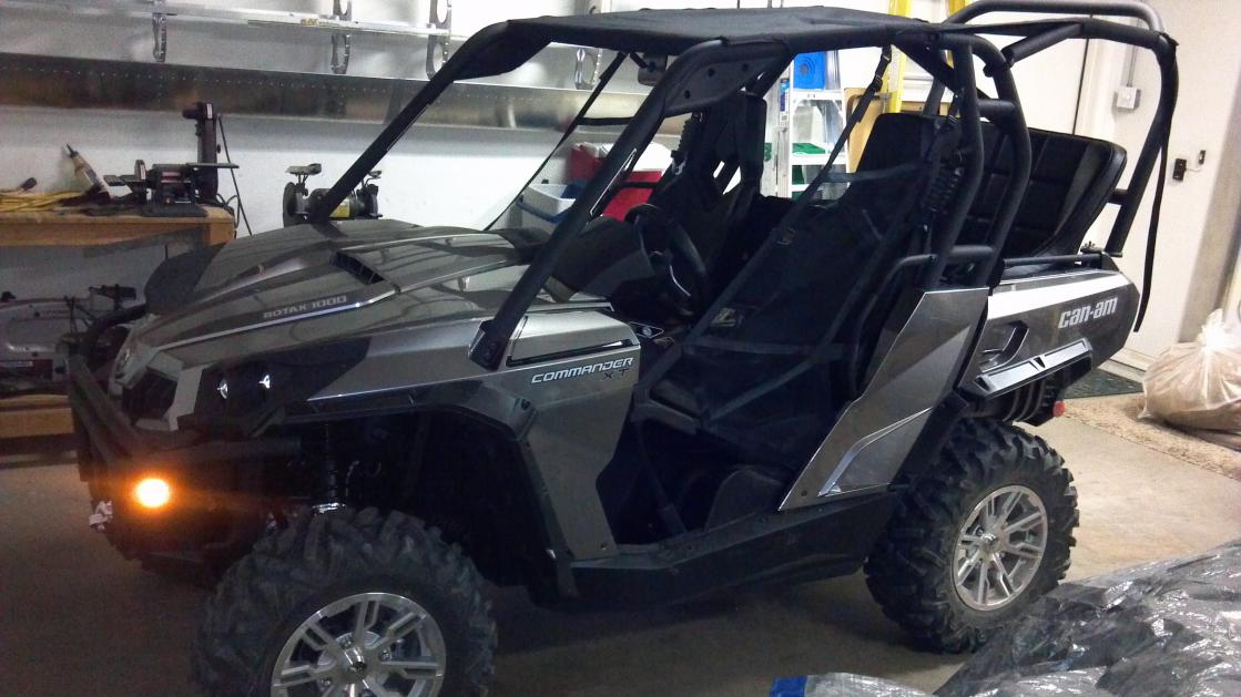 Bench Seat Conversion Can Am Commander Forum