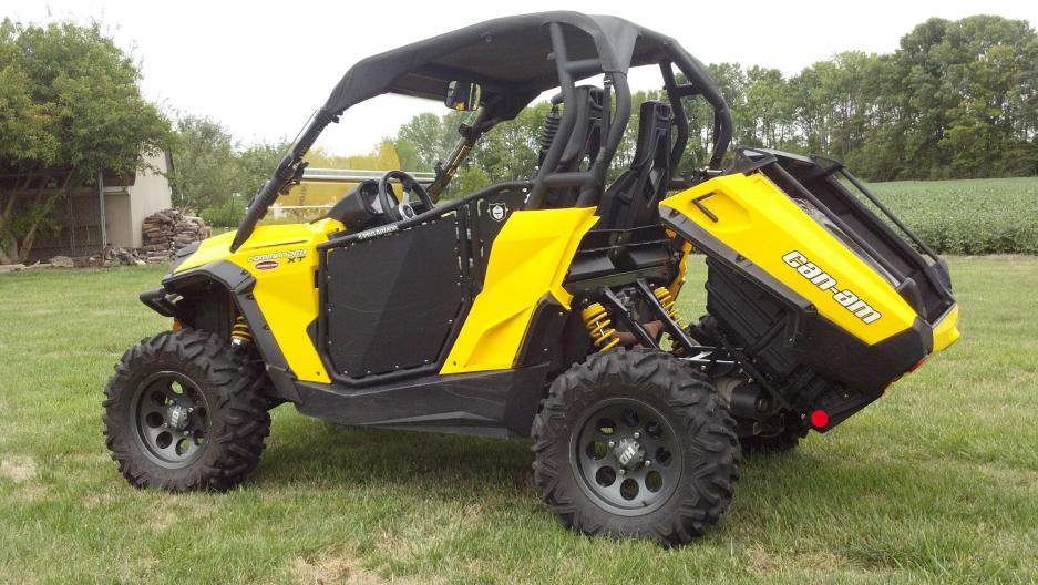 2011 commander 1000 xt in indiana for sale can am. Black Bedroom Furniture Sets. Home Design Ideas