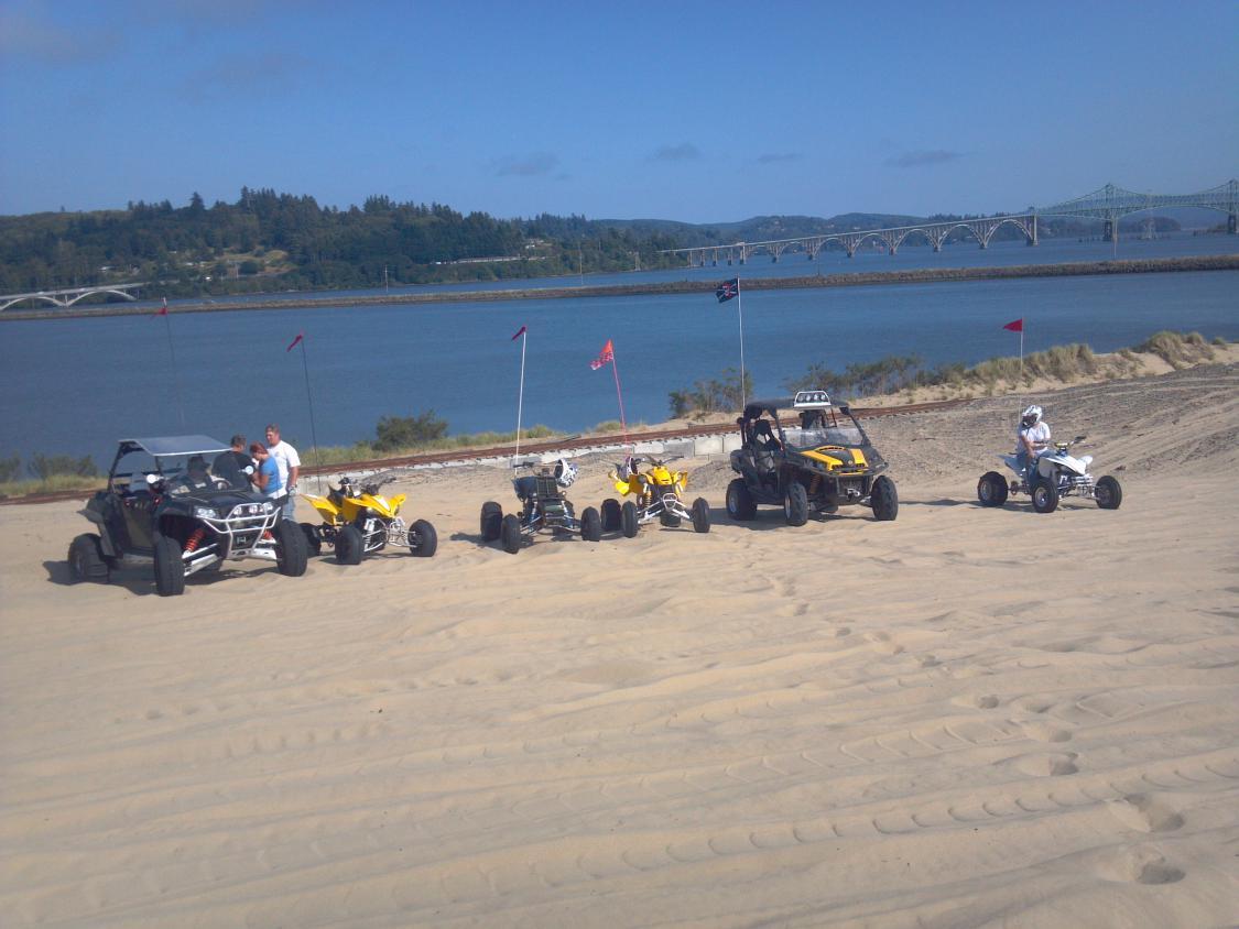 Sand Dunes Coos Bay Oregon