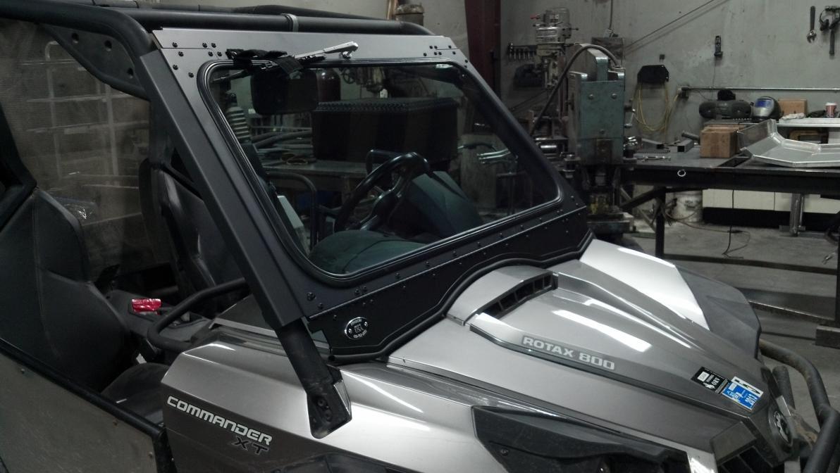 Rear Windshield Wiper >> Ryfab Commander Windshield - Can-Am Commander Forum