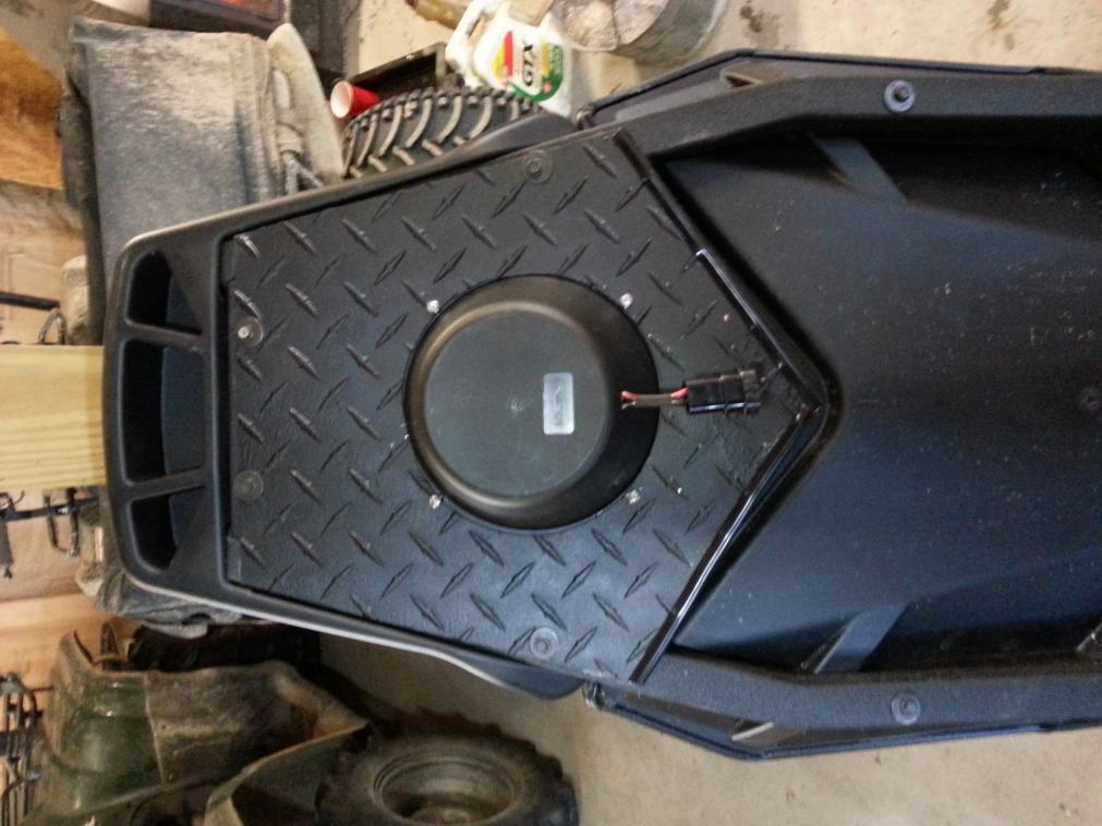 Seat Speaker Enclosures Can Am Commander Forum