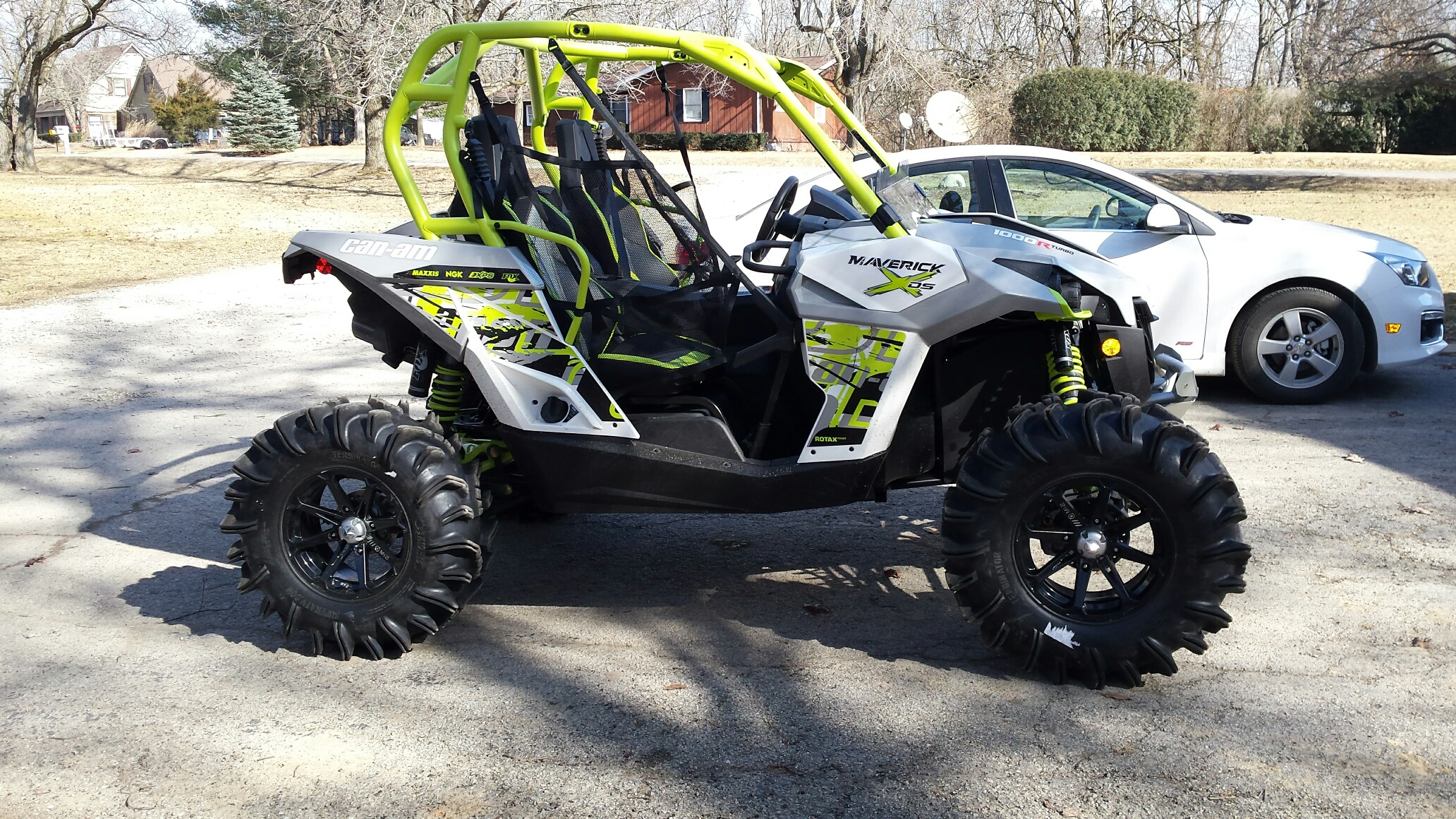 """Can Am Maverick Forum >> My new XDS Turbo on 33"""" Terminators.... - Can-Am Commander Forum"""