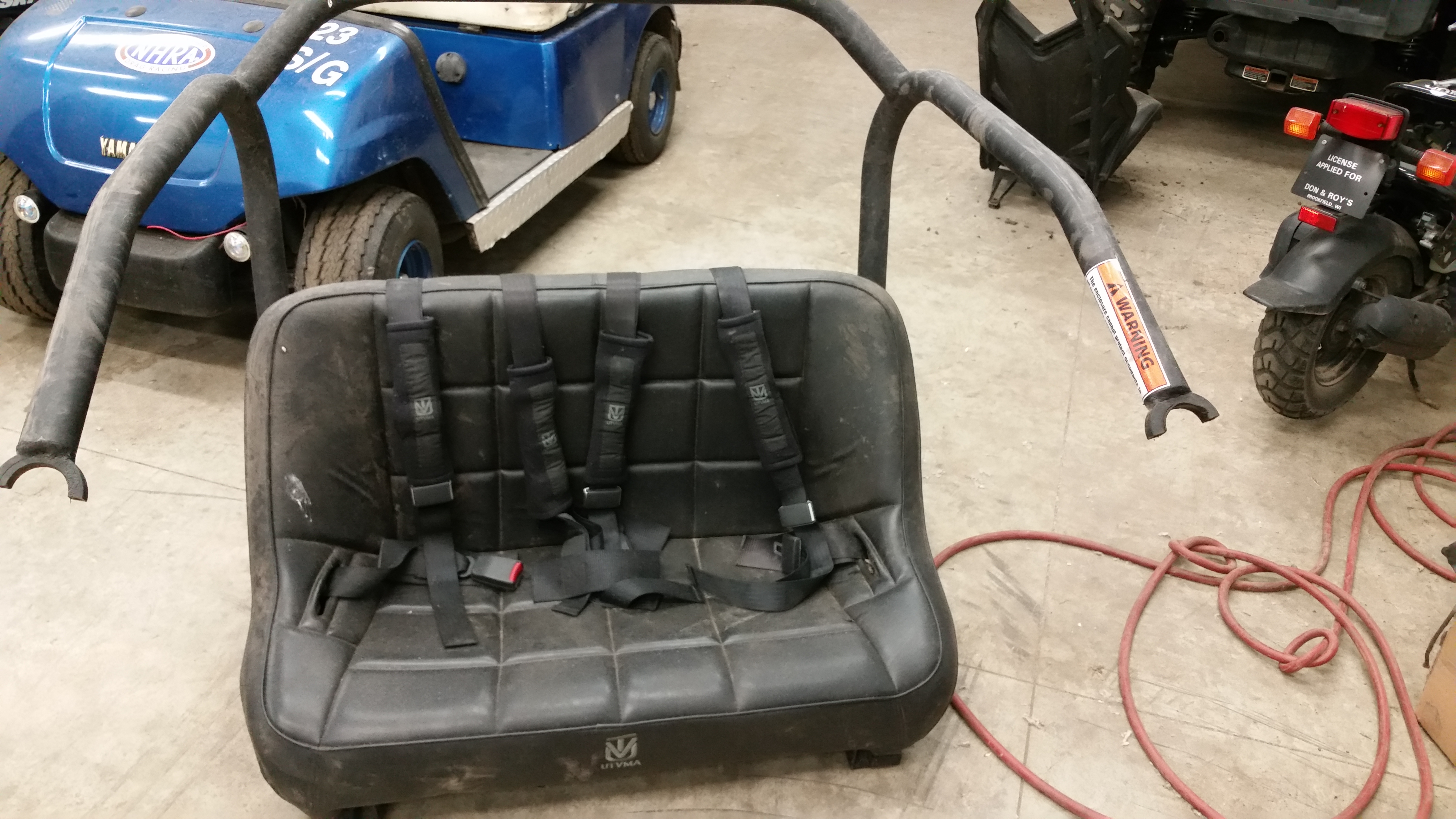 Utv ma rear seat for commander can am forum