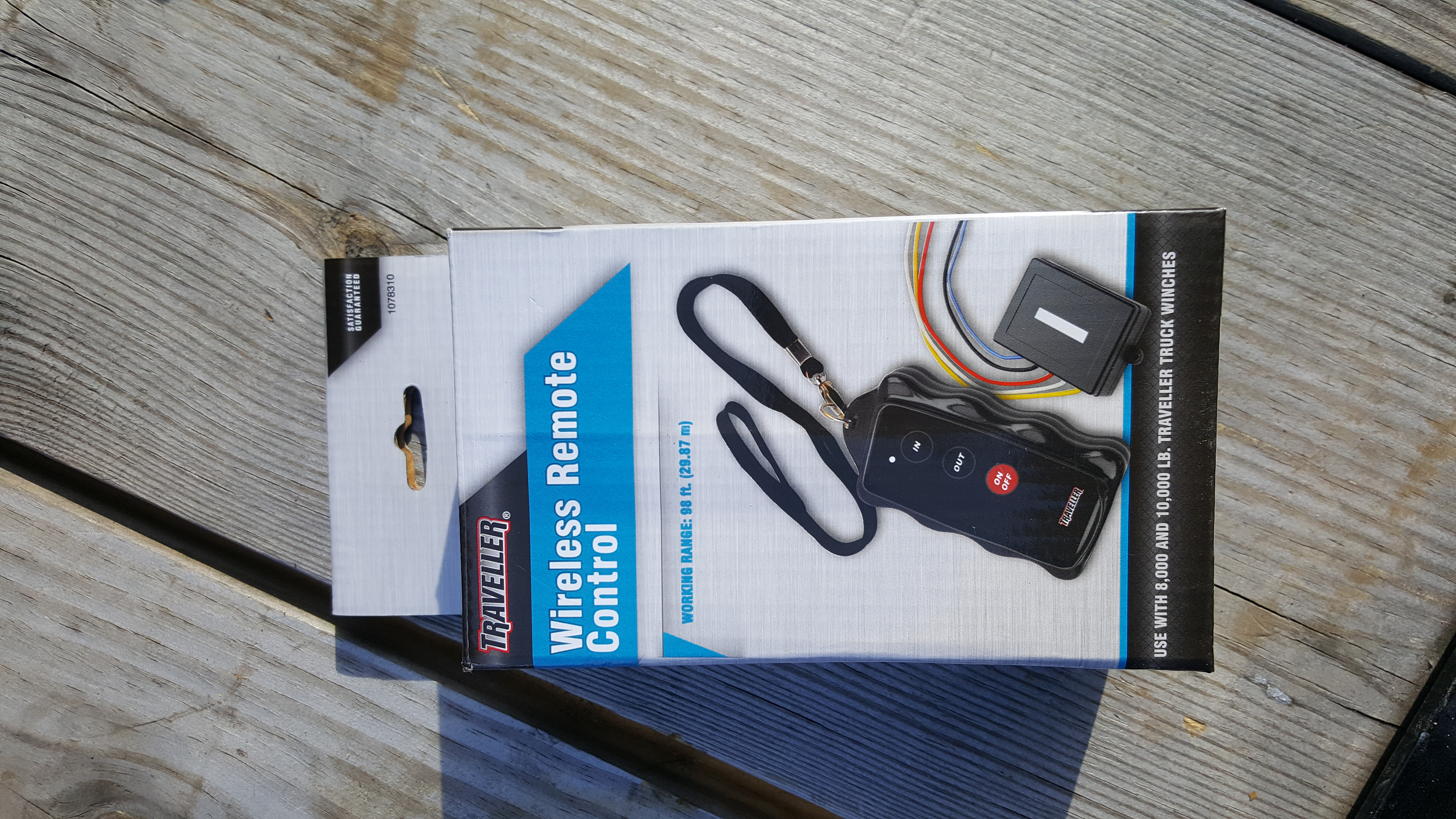 Wireless winch remote control Yankee cheap - Can-Am