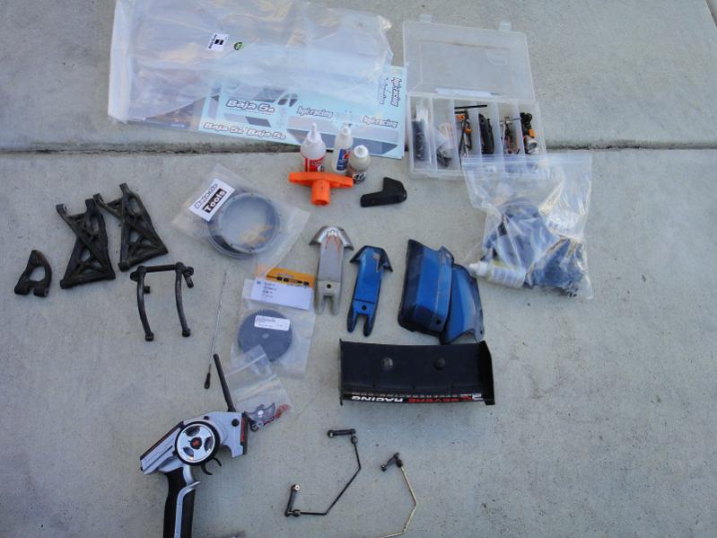 HPI BAJA 5B SS 26cc buggy with extras - Can-Am Commander Forum