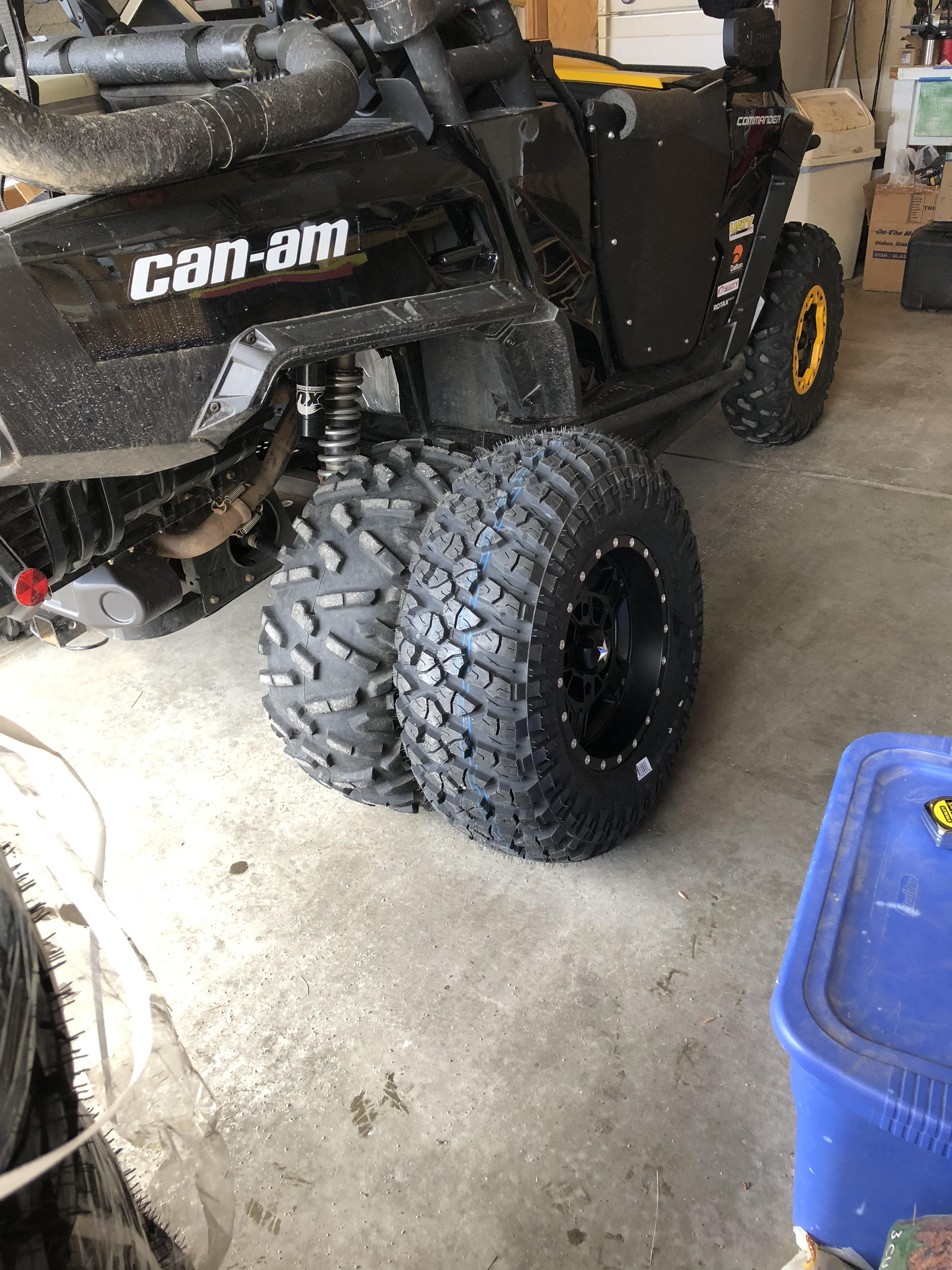 Wheel And Tire >> New Moab tires - Can-Am Commander Forum