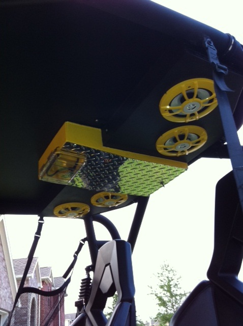 New Speaker Roof Mount Custom Built Can Am Commander Forum