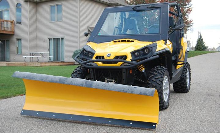 The Best Snow Plow Page 7 Can Am Commander Forum