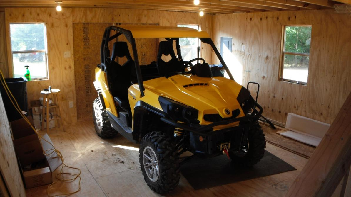 Utv Roof Install Completed Can Am Commander Forum