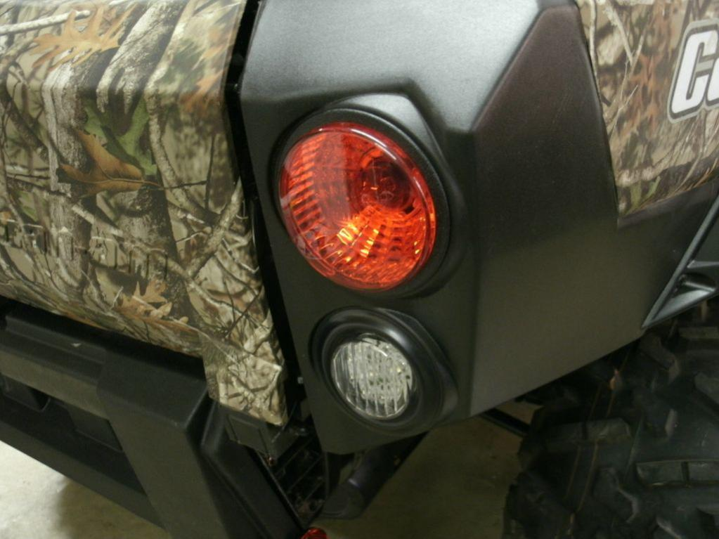 2 Quot Rear Lights Page 7 Can Am Commander Forum