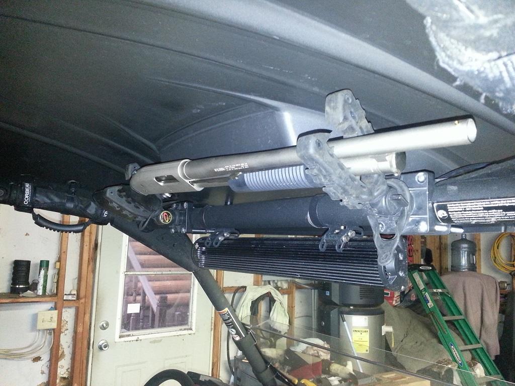 Overhead Gun Rack Can Am Commander Forum