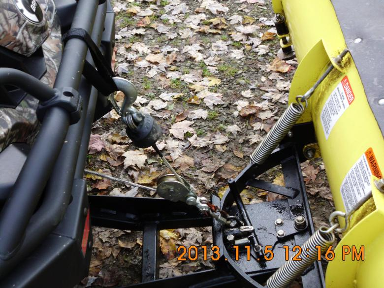 Snow Plow Pulley Can Am Commander Forum