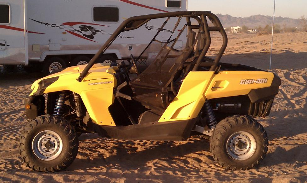 Can Am Commander >> trailing arm extension - Page 2 - Can-Am Commander Forum