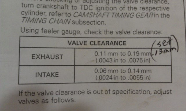 how big a job to inspect valve clearance? - Can-Am Commander