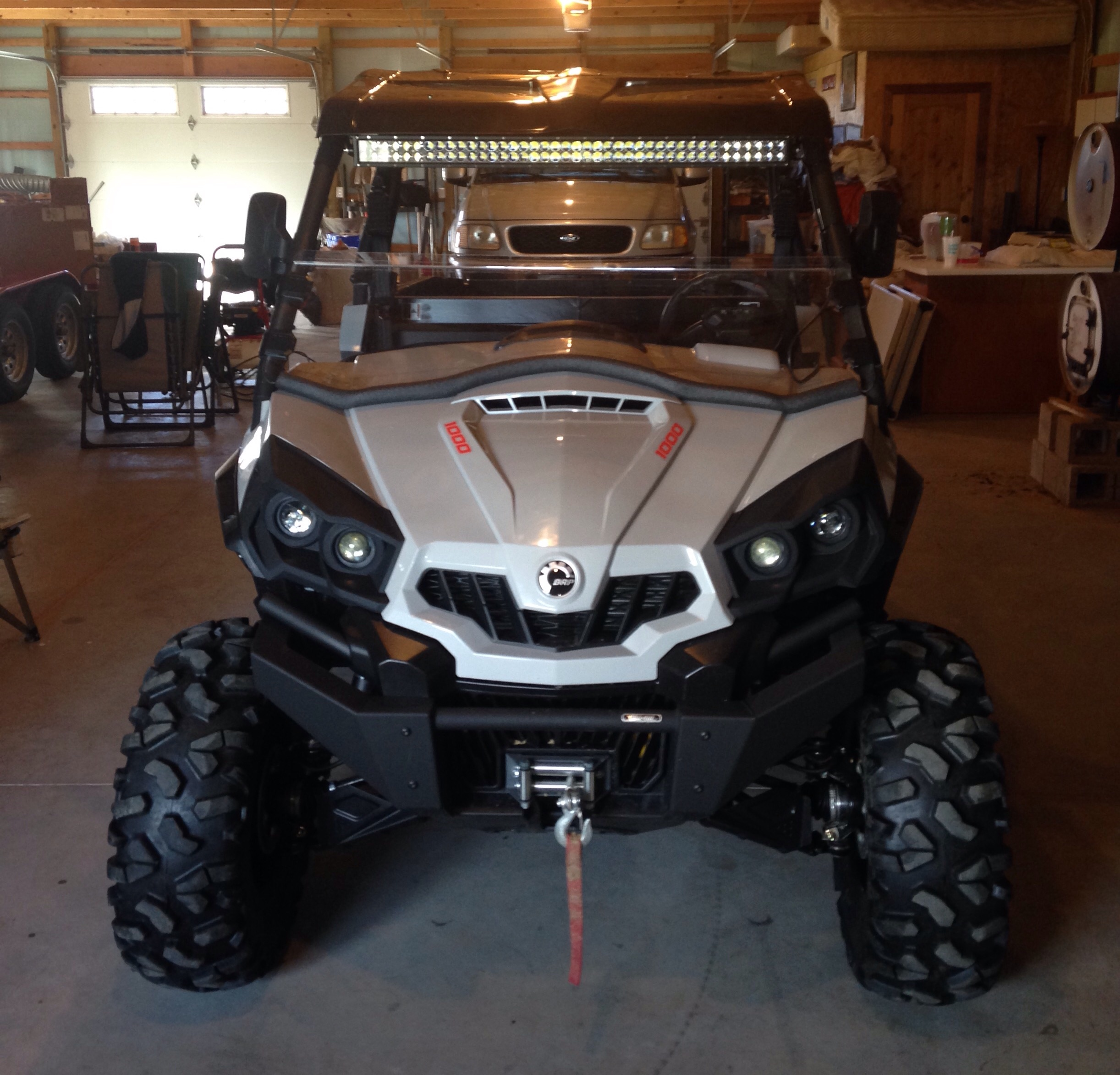 Post Up Pics Of Your Light Bar Or Led Light Placement