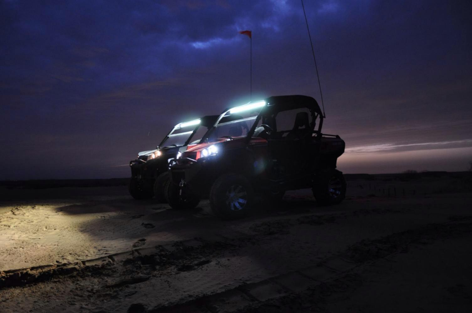 40 Quot Led Light Bar Special Can Am Commander Forum