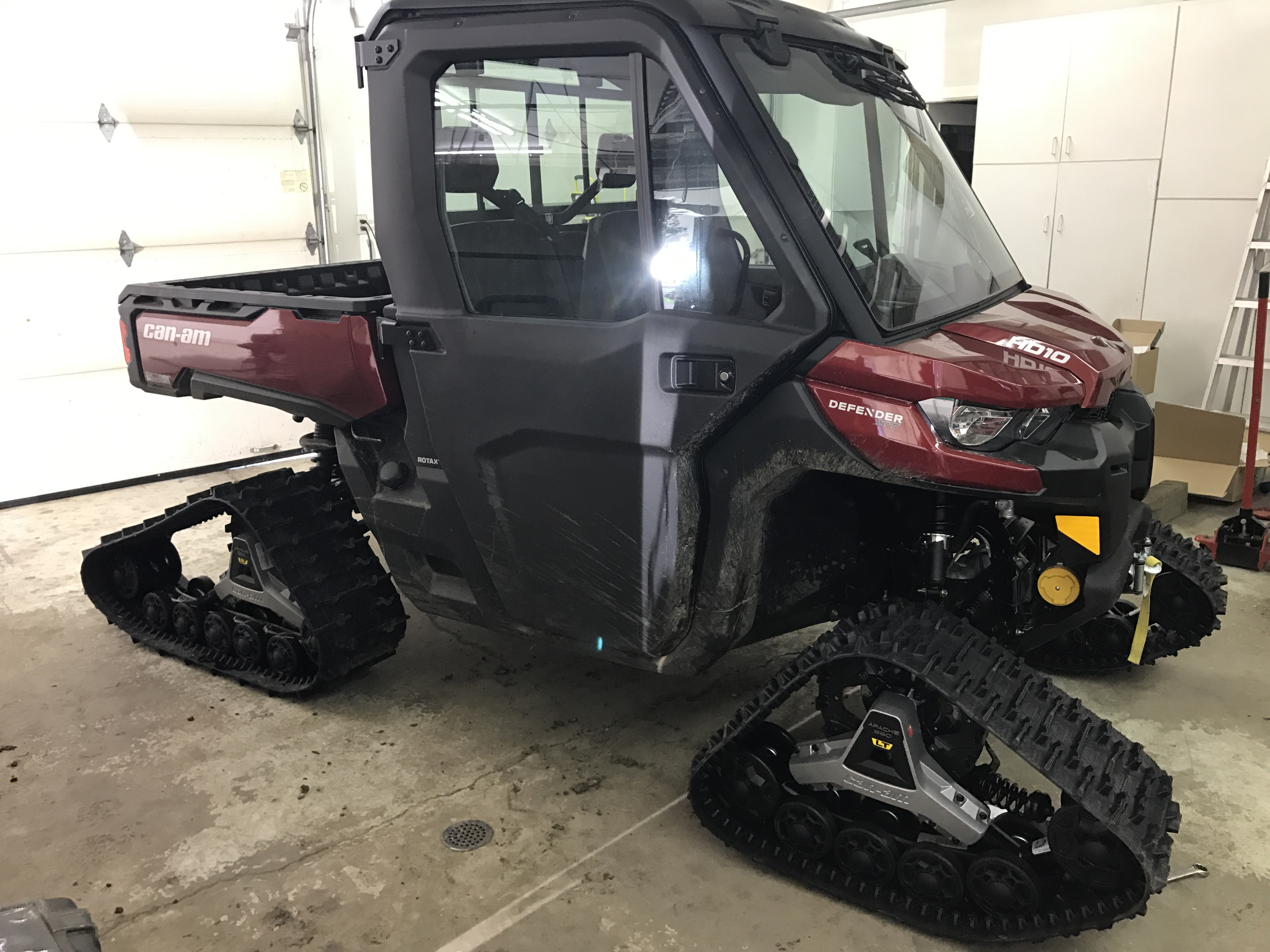 Apache 360 Lt Track System Can Am Commander Forum