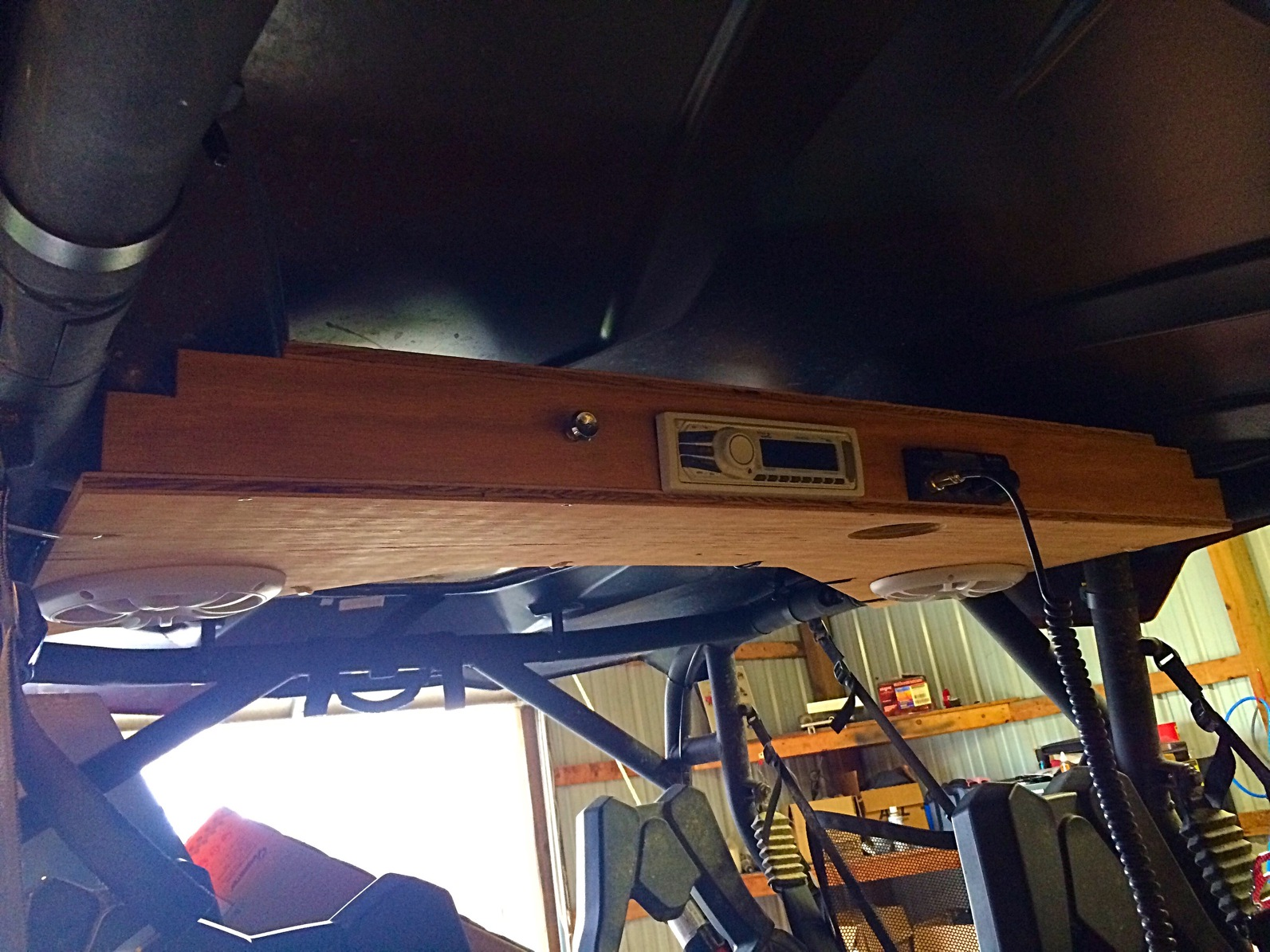 Diy Audio Roof System Can Am Commander Forum