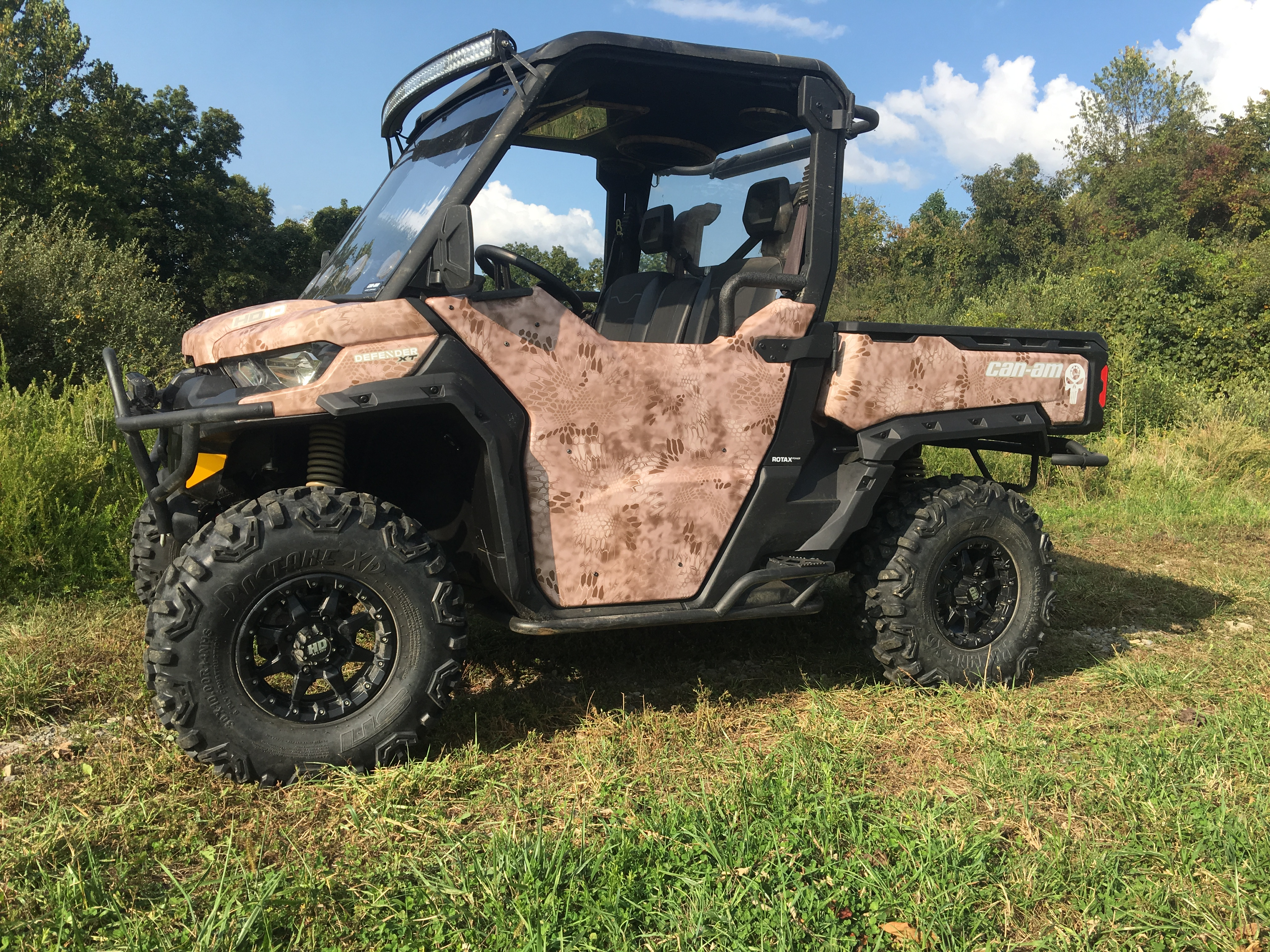 a bunch of Defender accessories F SA - Can-Am Commander Forum