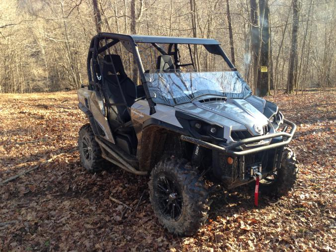 Utv Inc Can Am Commander Aluminum Roof For Oem Cage   Black   Can Am  Commander Forum