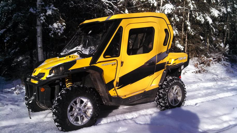 Winter Ride Can Am Commander Forum