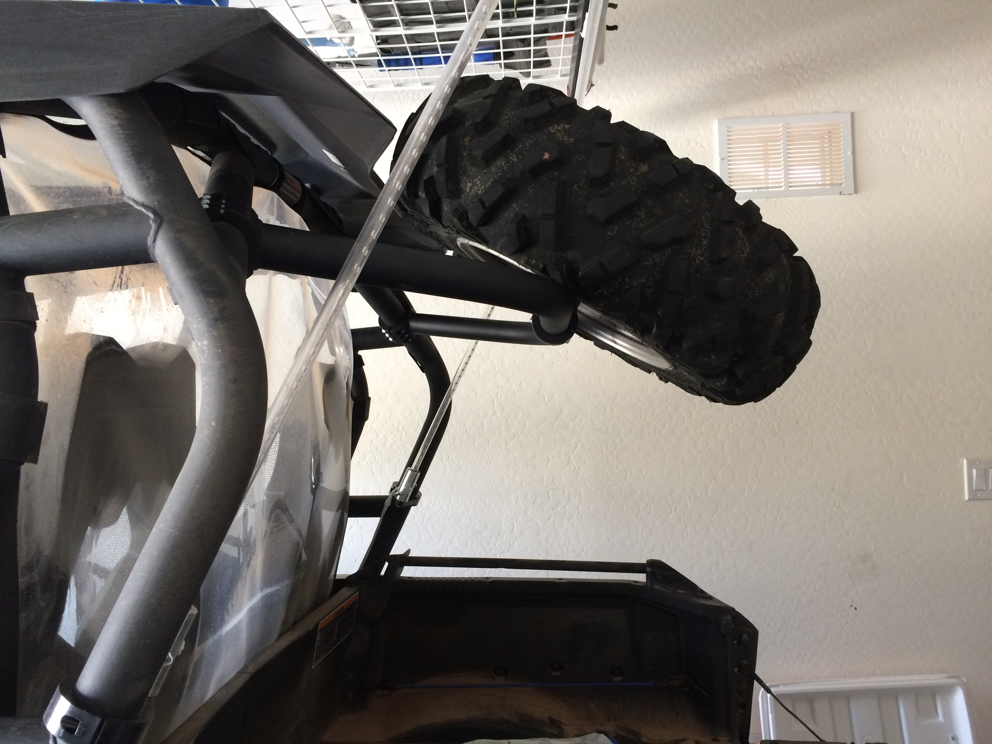 Spare Tire Rack Can Am Commander Forum