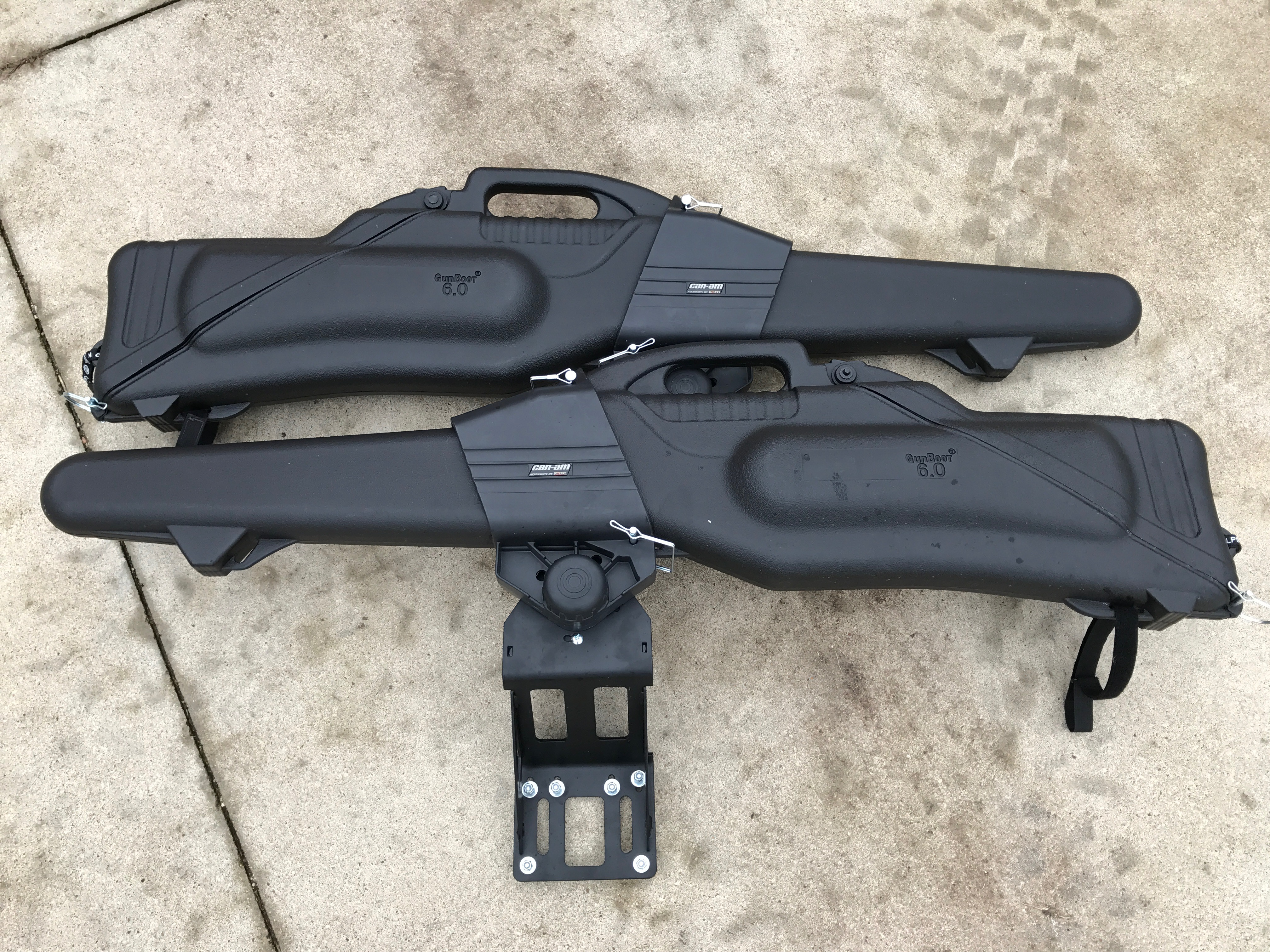 Wts Kolpin Double Gun Mount And Cases Can Am Commander