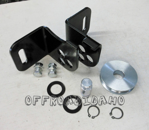 Winch Cable Pulley For Snowplows Can Am Commander Forum