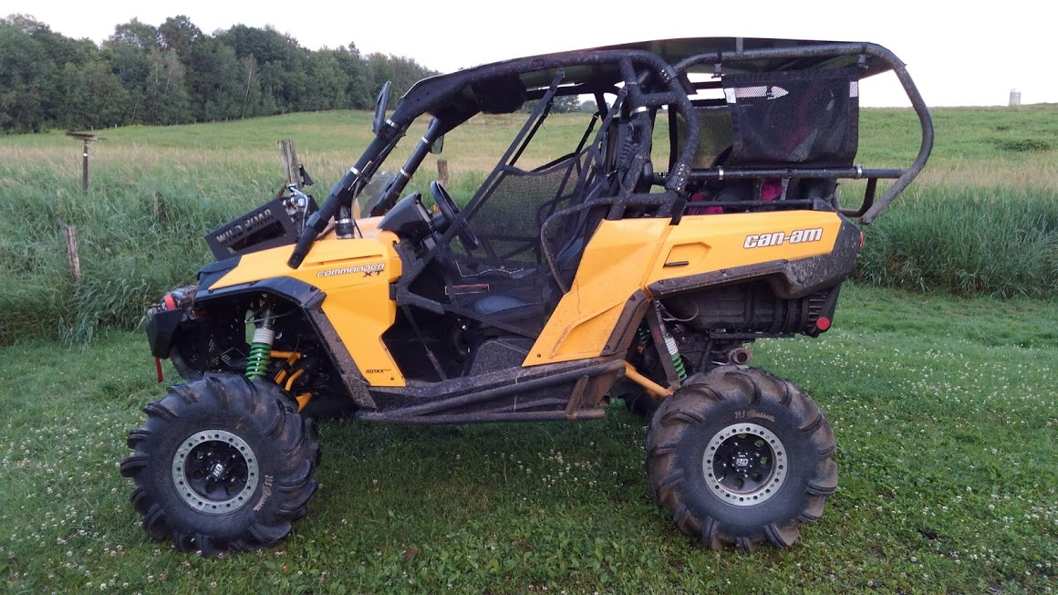 Can Am Commander For Sale >> 2014 Can Am Commander XT 1000 with 415 miles on it and 6 inch lift and rear seats - Can-Am ...