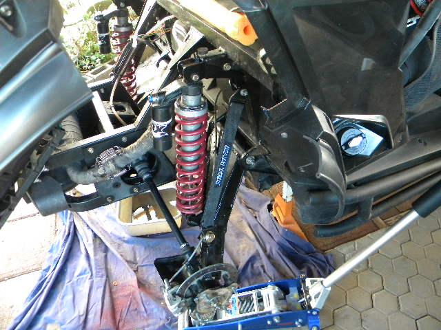 OE Aftermarket Axle Limit Strap