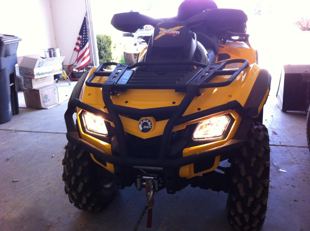 2011 Can Am Outlander 650xt Max
