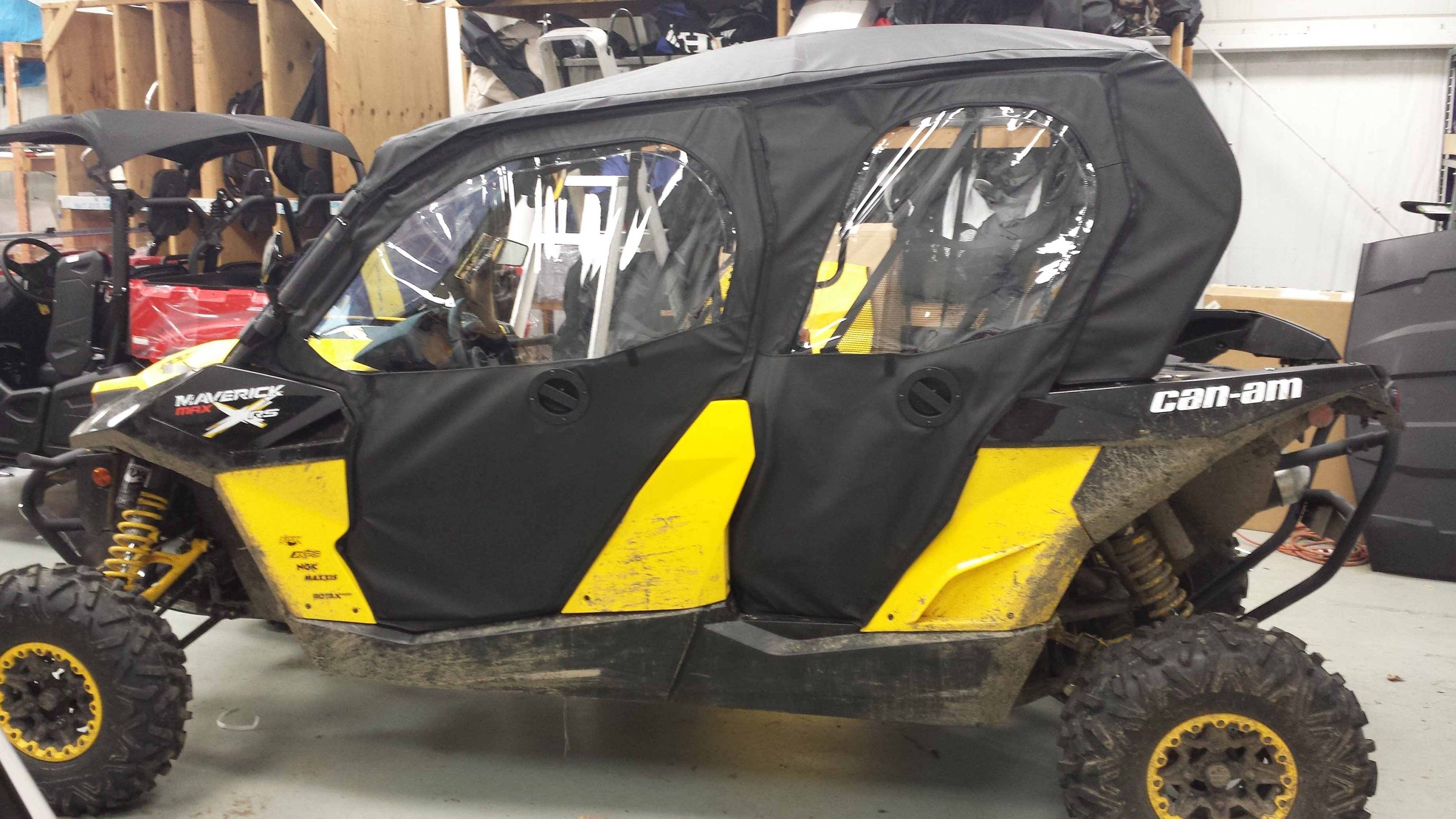 Can Am Commander For Sale >> Commander Max CSI cab/door options now avail! - Can-Am ...
