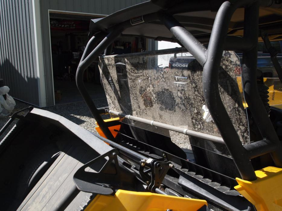 Anyone have the Kolpin rear windshield? - Can-Am Commander Forum