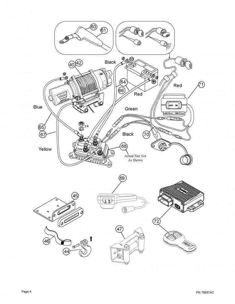 Warn 62135 Solenoid Wiring Diagram