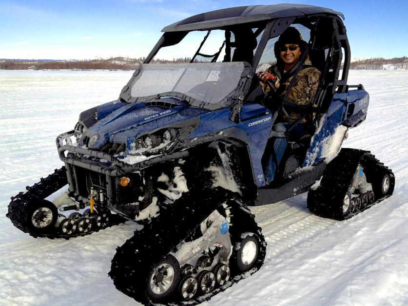 Can Am Commander For Sale >> 2012 Camoplast Tatou UTV 4S tracks for sale - Can-Am ...