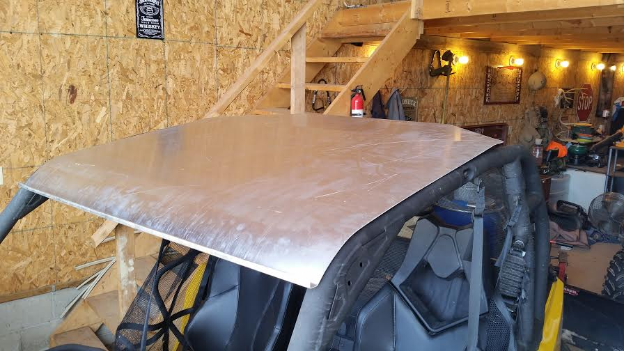 2014 Can Am Commander Xt Homemade Roof Can Am Commander