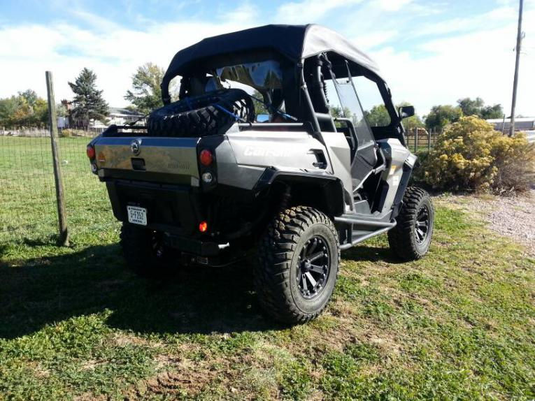 Can Am Commander >> GBC Kanatai Mongrel 28x10R14 all the way around. - Page 2 - Can-Am Commander Forum