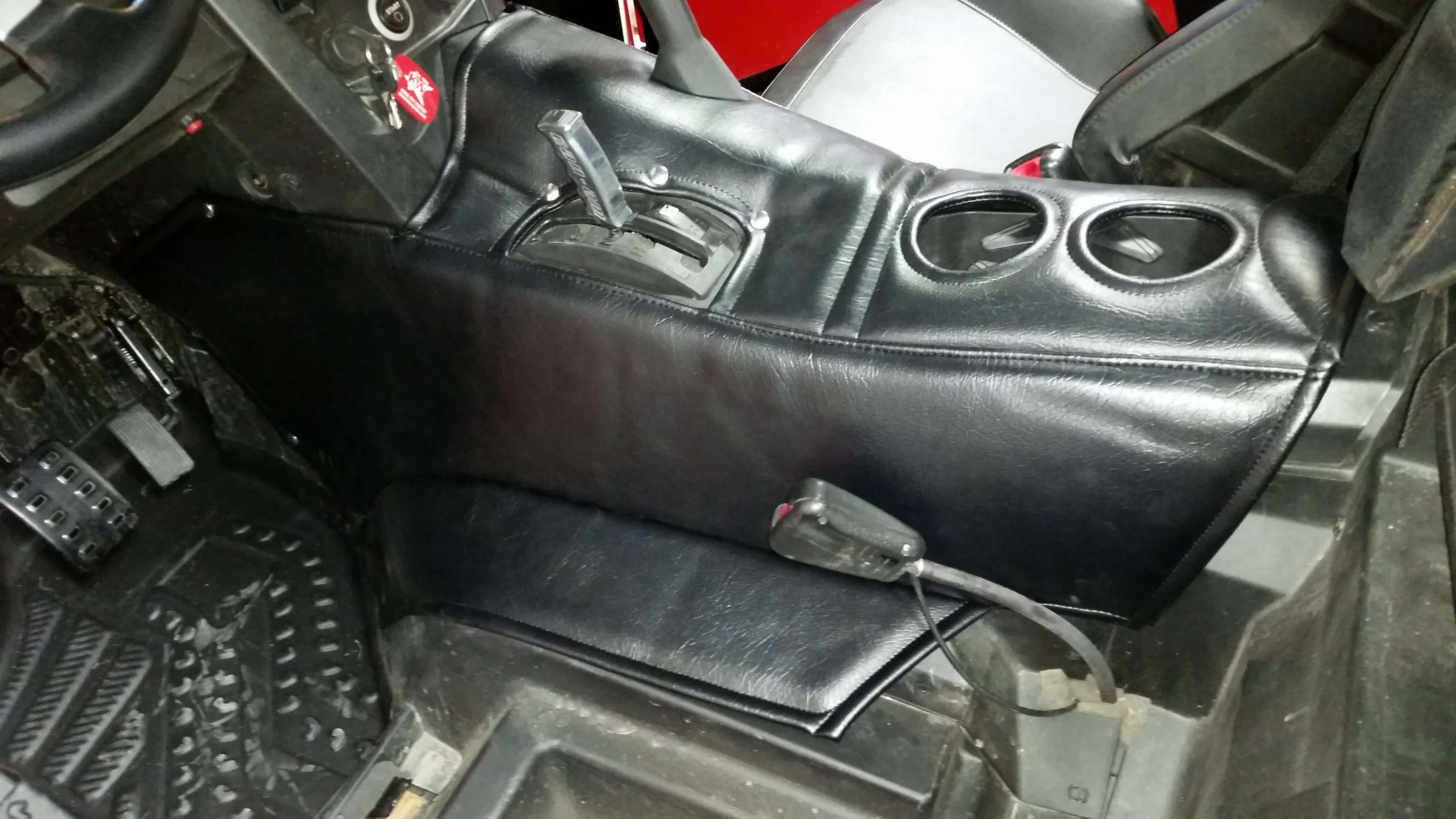 Insulated console cover update - Page 11 - Can-Am