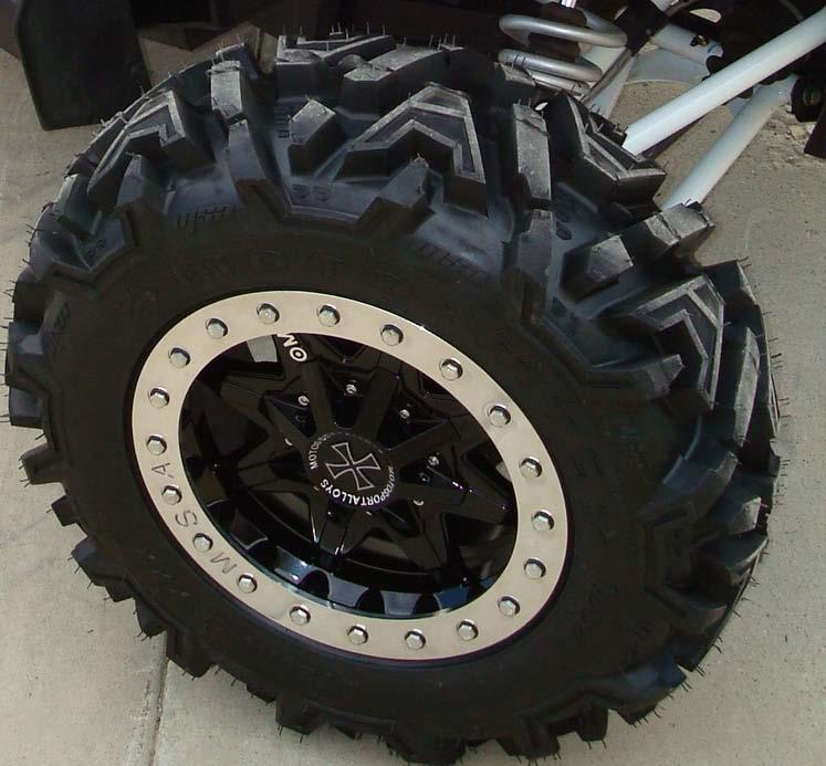Motosport Alloys M16 Vice Beadlock NEW!!! - Can-Am Commander Forum