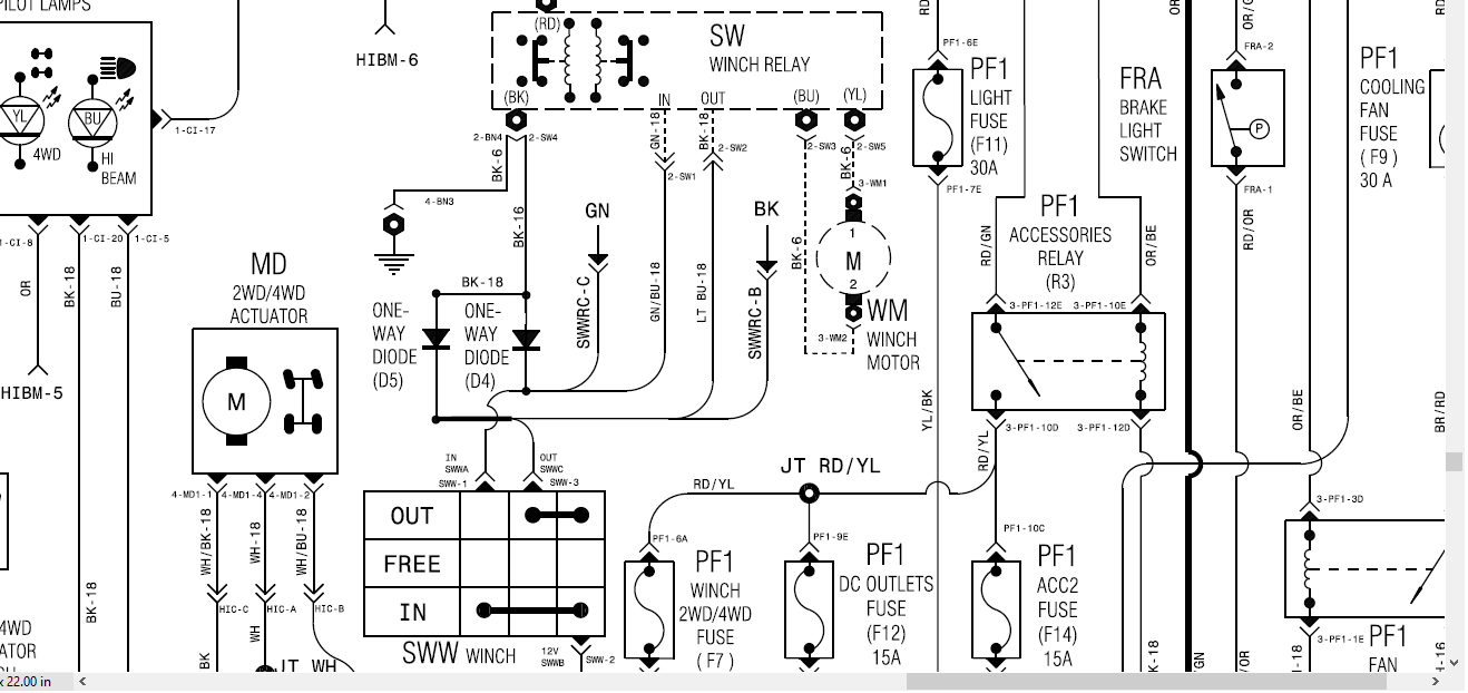 Winch Relay Wiring Diagram