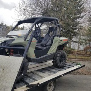 Turnkey UTV Can-Am Commander Quarter Doors