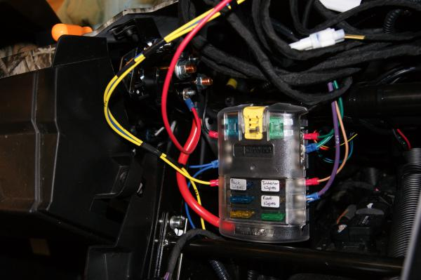 Switched Fuse Panel And Auxillary Lighting Install